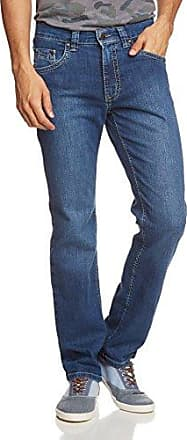 Jeans Droit - Homme - Bleu (stone used 354) - W40/L34Pioneer Authentic Jeans