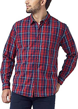 Karo Hemd, Chemise Casual Homme, Bleu (Fjord Blue 570), 49 (Taille du Fabricant: XXL)Pioneer Authentic Jeans