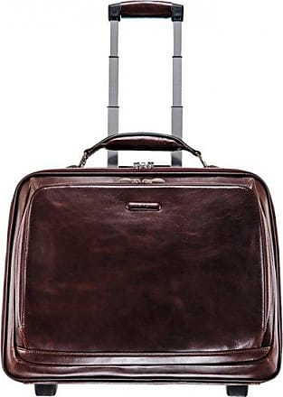 Piquadro blu Square valigetta a 2 ruote Business pelle 51 cm compartimenti  portatile mahagonibraun dMncd7T6o 577f143429b