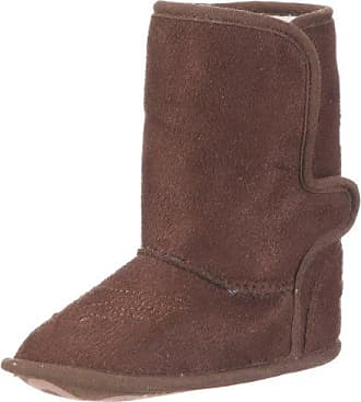 Playshoes Baby-Schuh in braun von Playshoes, innen gefüttert, Art. 103477 103477 - Zapatillas de casa de tela para bebé, color marrón, talla 20/21