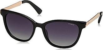 Unisex P4300 LA 00U Sunglasses, Gold/Brown Sf Pz, 62 Polaroid
