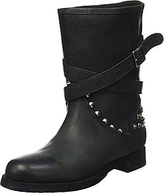 Pollini W.Boot, Botas Altas para Mujer, Negro (Nero), 37 EU