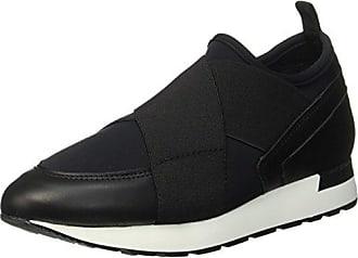 Pollini PB10572C01UV100A - Slippers de Piel Mujer, Color Negro, Talla 44 EU