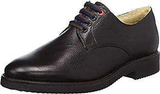 Pollini M.Shoe, Zapatos de Cordones Brogue para Hombre, Azul (Jeans 707), 40 EU
