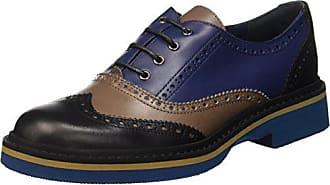 Pollini PA10352C1YPO0600, Zapatos De Cordones Mujer, Negro Brillo, EU 37