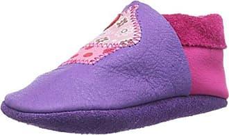 Pololo 9-78-2341 - Zapatos de Recién Nacido de Cuero Bebé-Niñas, Color Rojo, Talla 26/27 EU
