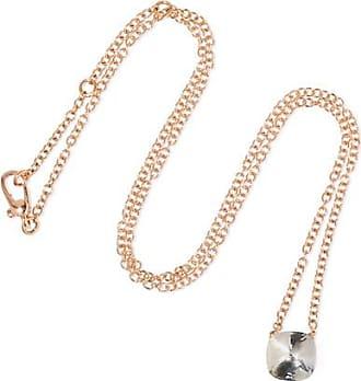 POMELLATO 18kt rose & white gold Nudo blue topaz pendant necklace - Unavailable