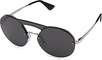 Sunglasses - PR 0PR64TS 66 1BC5S0 - silver, black - Sunglasses for ladies Prada