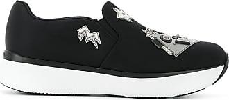 Slip on Sneakers for Women On Sale in Outlet, Military Green, gabardine, 2017, 4.5 5 5.5 Prada