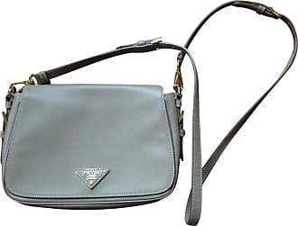gebraucht - Crossbody Bag in Beige - Damen - Leder Prada