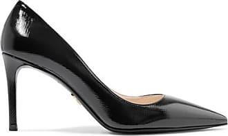 Pre-owned - Leather mid heel Prada