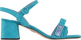 Sandalo Etiquette azzurro Prada