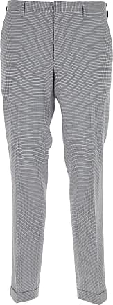 Pants for Men On Sale in Outlet, Dark Blue Marine, Virgin wool, 2017, 38 Prada