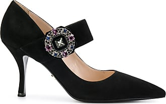 Pumps & High Heels for Women, Black, Suede leather, 2017, 3.5 4.5 5.5 6.5 7.5 Prada