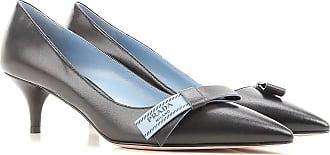Pumps & High Heels for Women On Sale, Black, Leather, 2017, 5.5 7.5 Prada