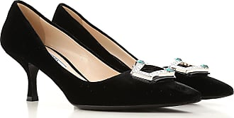 Pumps & High Heels for Women On Sale in Outlet, Brandy, Leather, 2017, 4 6.5 Prada