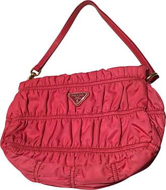 gebraucht - Handtasche aus Satin - Damen - Rosa / Pink Prada