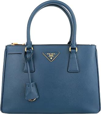 Tote - Concept Handle Bag Tote Leather Baltico - marine - Tote for ladies Prada