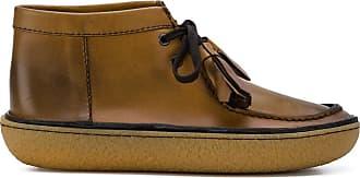 tassel ankle boots - Brown Prada