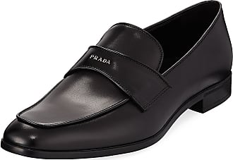 Loafers for Men On Sale, Red Scarlet, Leather, 2017, 5.5 6 Prada