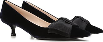 Pumps & High Heels for Women On Sale in Outlet, Blue, Velvet, 2017, 2.5 3 3.5 4 5.5 Prada