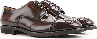 Lace Up Shoes for Men Oxfords, Derbies and Brogues On Sale, Cordovan, Leather, 2017, 7.5 Premiata