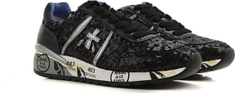 Sneakers for Women On Sale, Grey, Suede leather, 2017, 2.5 3.5 6.5 7.5 Premiata