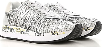 Sneakers for Women On Sale, Silver, Paillette, 2017, 2.5 3.5 4.5 5.5 7.5 8.5 Premiata