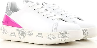 Sneakers for Women On Sale, White, Leather, 2017, 2.5 3.5 4.5 5.5 7.5 Premiata