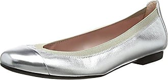 Shirley, Bailarinas para Mujer, Plateado (Espequio Plata Silver), 37 EU Pretty Ballerinas