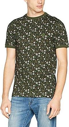 Balfour SS, T-Shirt Homme, Vert (Dark Green Dkgree), SPretty Green