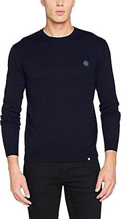 Tom Tailor Cute Basic Blouse Shirt, Camisa Manga Larga para Mujer, Azul (Real Navy Blue 6593), 40 (Talla del Fabricante: Medium)