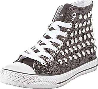 Sneakers, Zapatillas Altas para Mujer, Negro (Nero 112618397CANERO), 38 EU Prima Donna