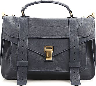 Shoulder Bag for Women On Sale, Smoke, Leather, 2017, one size Proenza Schouler