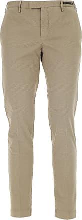 Pants for Men On Sale, Blue Melange, Cotton, 2017, 32 PT01