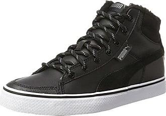 Puma Liza Mid - Zapatillas para Hombre, Negro (Black/Black/Black), 38