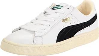 Puma Basket Classic, Scarpe Sportive, Unisex, Bianco/Nero (Blanc/Noir), 46 EU