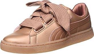 Puma Damen Basket Heart Copper 365463-01 Sneaker  Mehrfarbig (Pink 001)