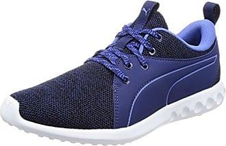 Puma Pulse Ignite XT Velvet VR, Zapatillas Deportivas para Interior para Mujer, Azul (Blue Depths-Icelandic Blue), 42.5 EU