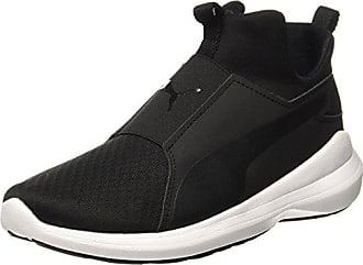 Puma Vikky Mid Twill Sfoam 362629 - Zapatillas para Mujer, Color Marrón (Black Coffee-Black Coffee 02), Talla 39 UE