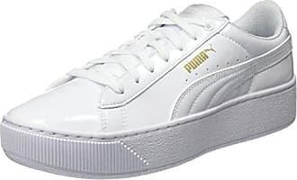 Puma Damen Smash Perf Sneaker, Weiß (White-Love Potion), 40.5 EU