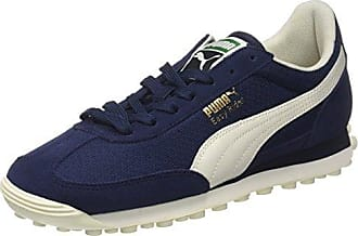 Puma Easy Rider, Sneakers Basses Mixte Adulte, Bleu (Lapis Blue-Whisper White-Gold), 46 EU
