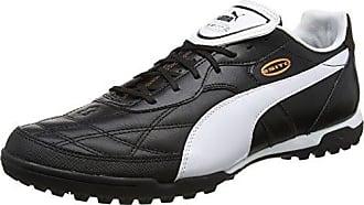 Puma Capitano II FG, Chaussures de Football Homme, Noir Black White-Gold 1, 40.5 EU