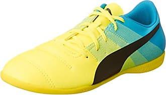 Puma Unisex-Kinder Evospeed Indoor NF Euro 5 Jr Multisport Schuhe, Gelb (Fizzy Yellow-Red Blast Black), 36 EU