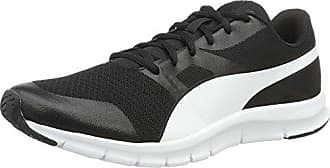 Puma Flexracer, Zapatillas Unisex Adulto, Blanco (Puma White-Puma Black 21), 40 EU