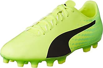 Puma Evospeed 17.5 TT, Chaussures de Football Homme, Jaune (Safety Yellow Black-Green Gecko 01), 40 EU