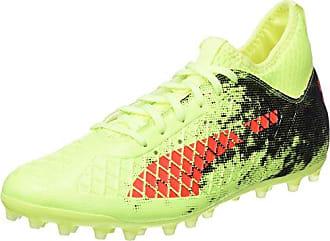 Puma Evospeed Netfit Sprint, Chaussures d'Athlétisme Mixte Adulte, Jaune (Fizzy Yellow-Red Blast Black), 44 EU