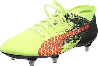 Puma Future 18.1 Netfit MX SG, Chaussures de Football Homme, Jaune (Fizzy Yellow-Red Blast Black), 42 EU