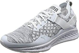 Puma Ignite Evoknit 2 Wn's, Chaussures de Cross Femme, Blanc White-Quarry, 40.5 EU