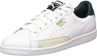 Puma Match 74 Summer Shade, Sneakers Basses Mixte Adulte, Noir Black White 01, 43 EU